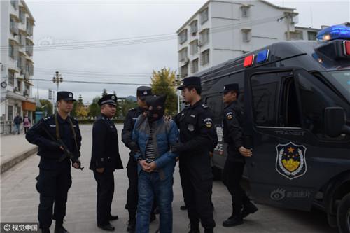 贵州命案逃犯20年后新疆落网图片 69799 500x333