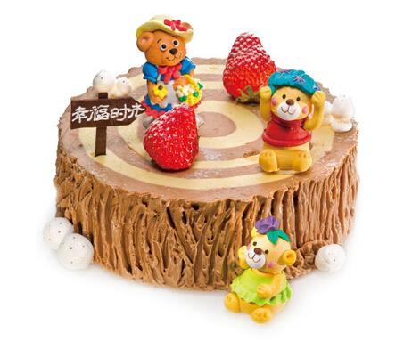 幸福时光(6寸)----好利来卡通蛋糕