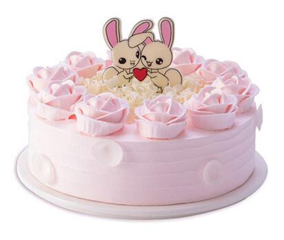 甜蜜心情(8寸)----原味戚风蛋糕