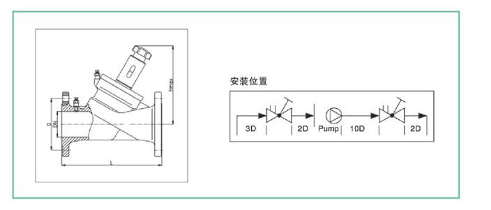 bs-drv系列中央空调静态流量平衡阀图片