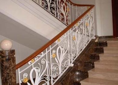 铁艺楼梯扶手-装修论坛-华商论坛