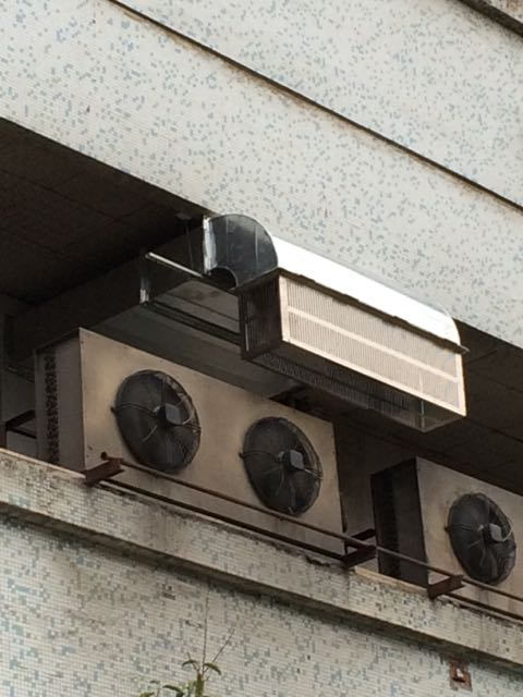 汉中电信风道改造